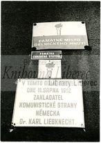 [Památné místo dělnického hnutí, Liberec, náměstí Bojovníků za mír 23]